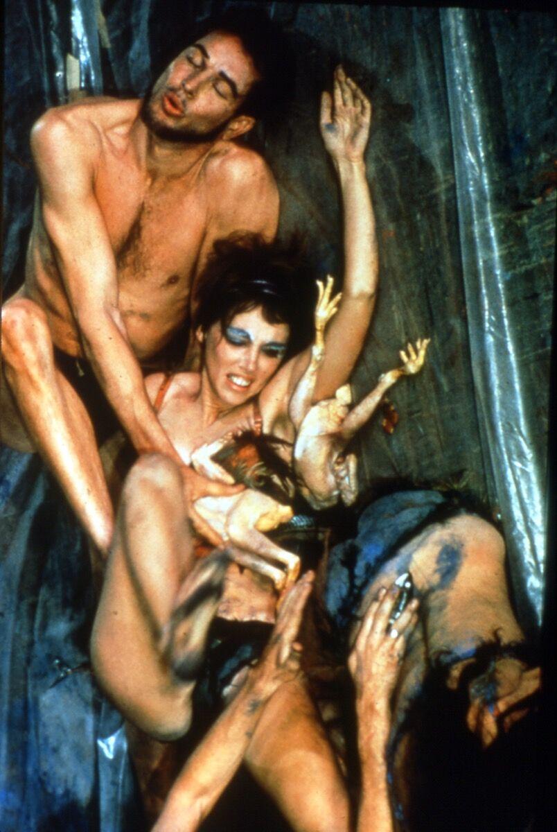 Carolee Schneemann, Meat Joy, 1964. Courtesy of MoMA PS1.