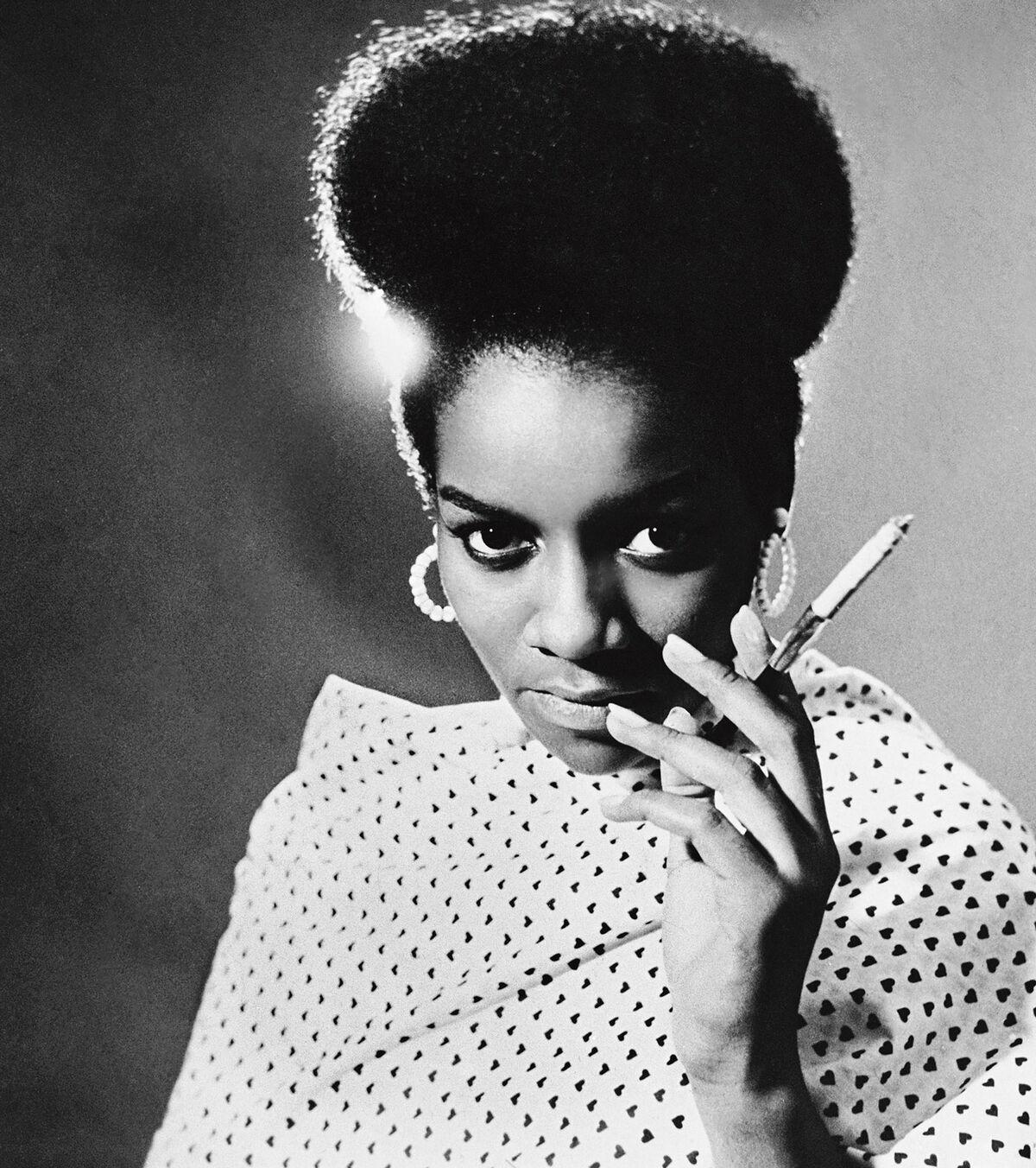 Kwame Brathwaite, Priscilla Bardonille, African Jazz-Art Society & Studios (AJASS), Harlem, ca. 1962, from Kwame Brathwaite: Black Is Beautiful, Aperture, 2019. © Kwame Brathwaite.