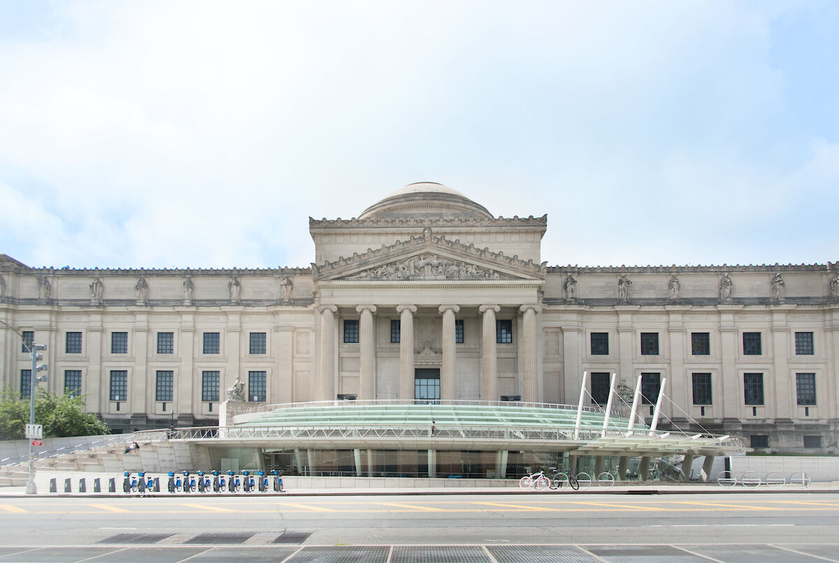 Exterior of the Brooklyn Museum. 2018. Courtesy Brooklyn Museum. Photo by Jonathan Dorado.