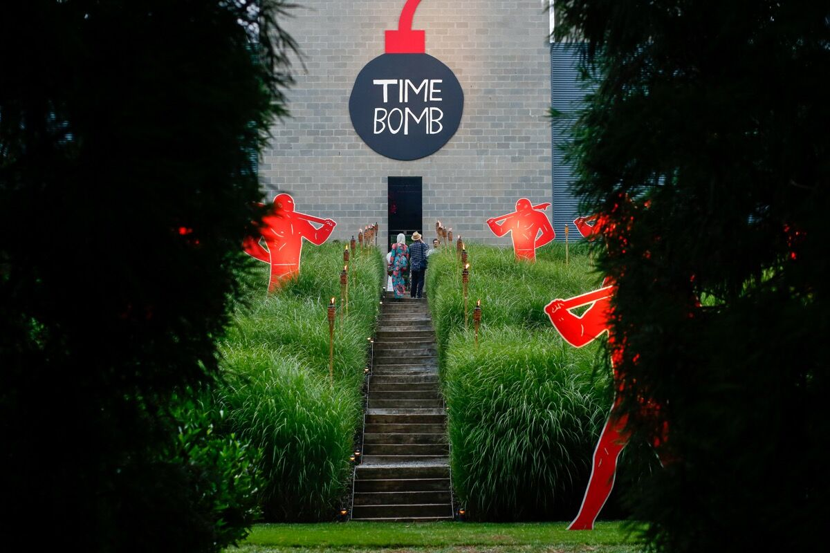 Christopher Knowles, Time Bomb, at the Watermill Center. Photo by Ryan Kobane. Courtesy of BFA.