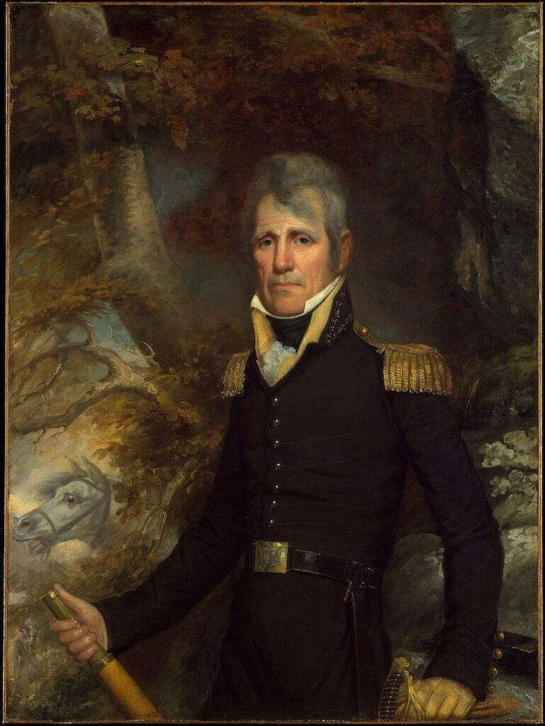 John Wesley Jarvis, General Andrew Jackson, ca. 1819. Courtesy of the Metropolitan Museum of Art.