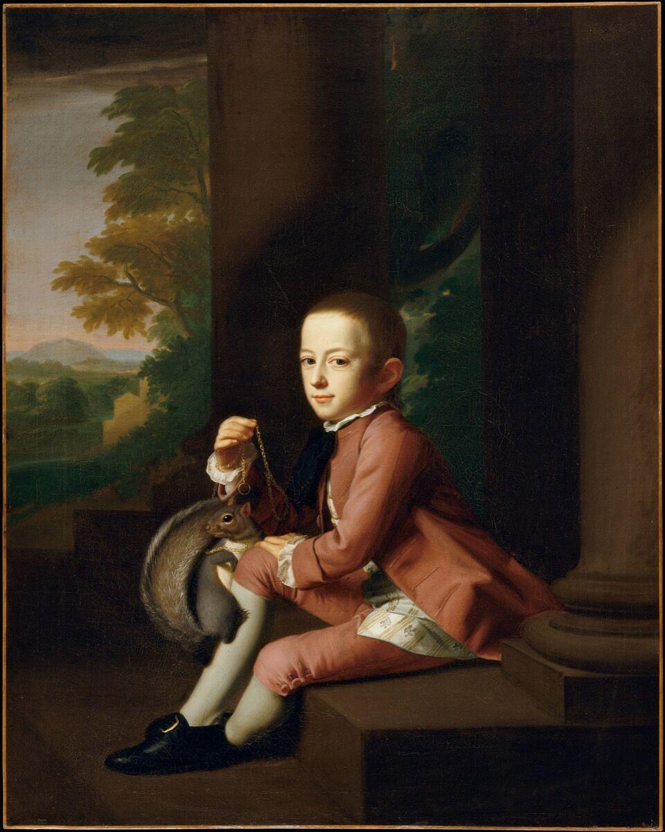 John Singleton Copley, Daniel Crommelin Verplanck, 1771. Courtesy of the Metropolitan Museum of Art.