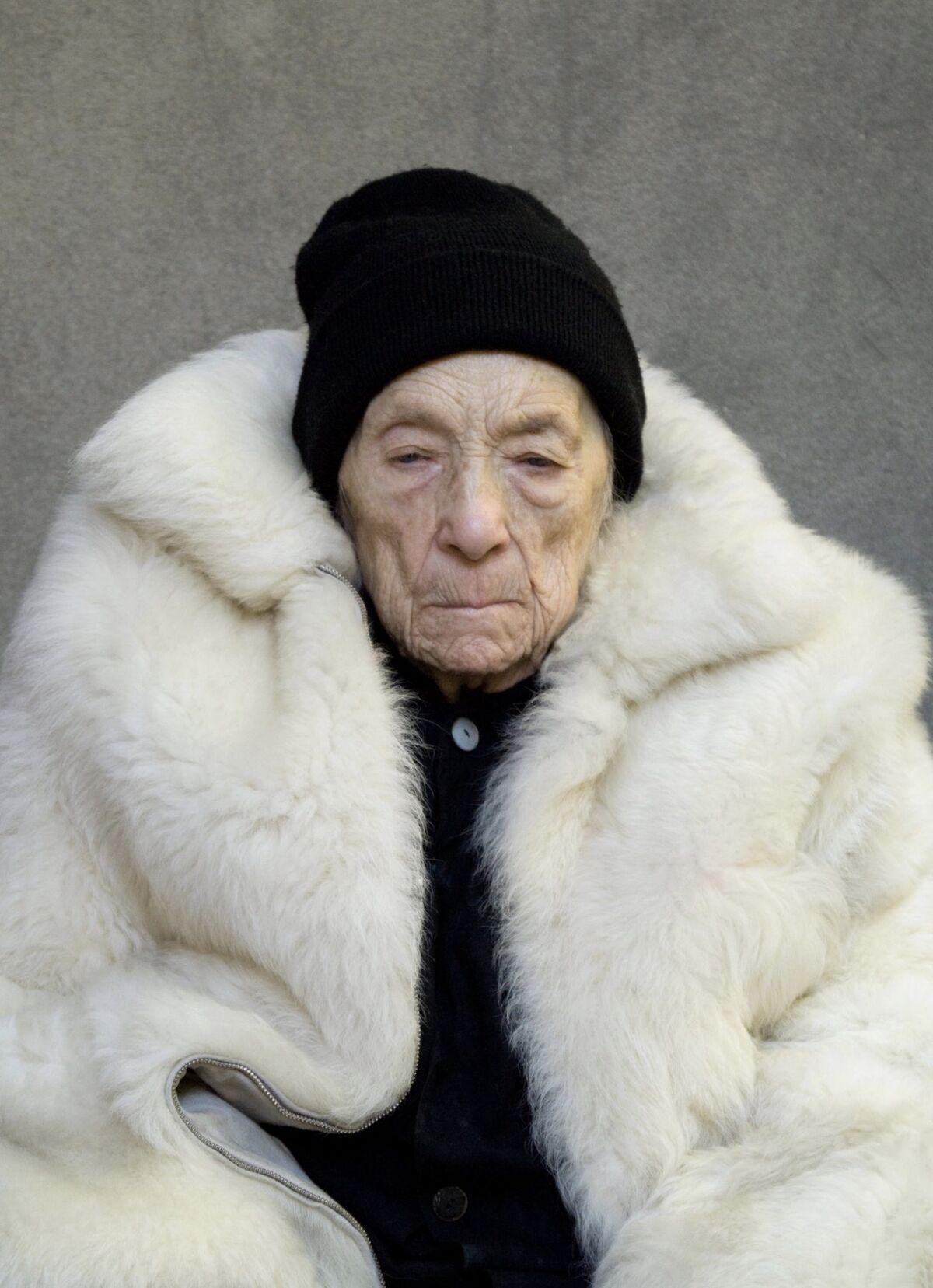 Alex Van Gelder, portrait of Louise Bourgeois. Courtesy of the artist.