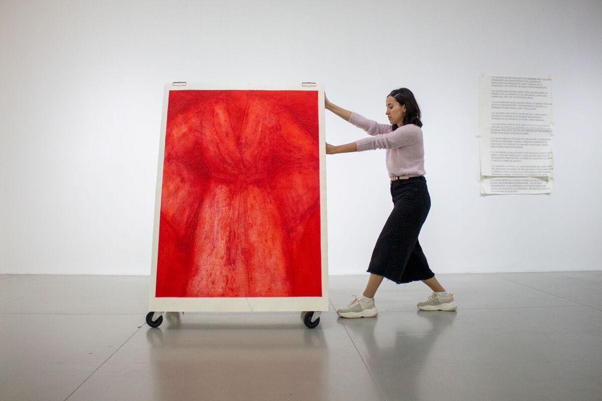 "Promotional image for ""No Longer Art: Salvage Art Institute"" at  Museo  de Arte de Zapopan, Mexico, 2019. Courtesy of MAZ."