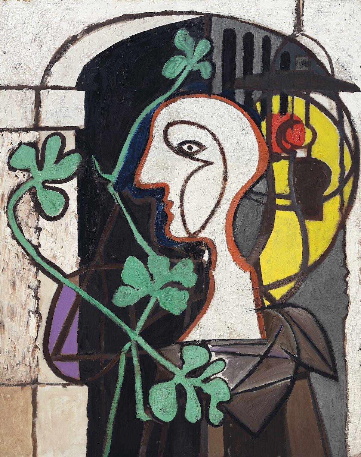 Pablo Picasso, La Lampe, 1931, oil on canvas. Est. $25–35 million. Courtesy Christie'