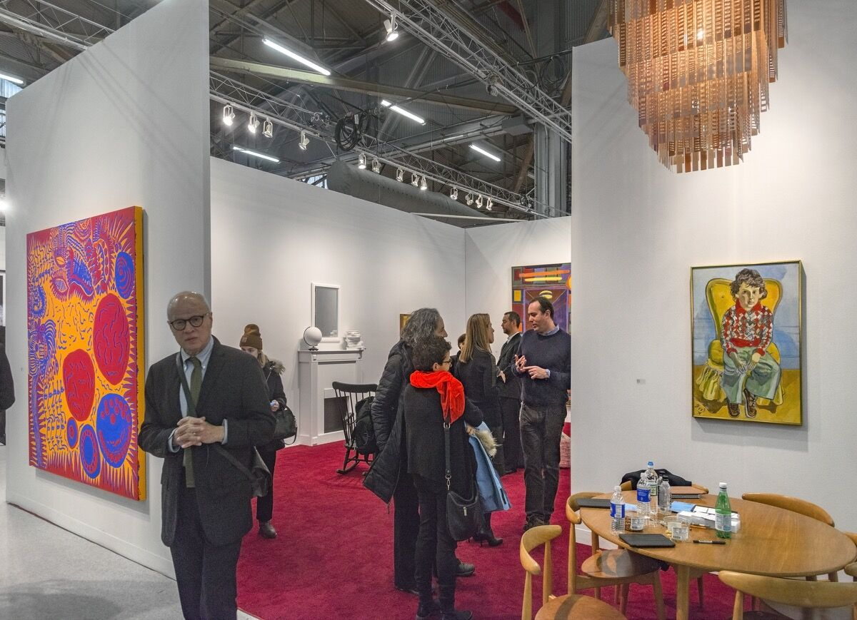 Snow storm couldn t stop armory show crowds but early - The armory show tickets ...