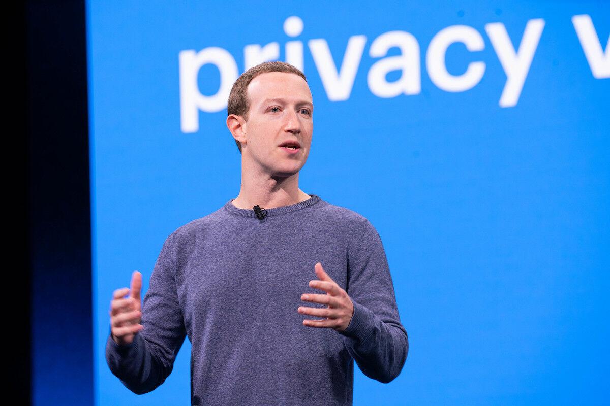 Mark Zuckerberg. Photo by Anthony Quintano, via Flick