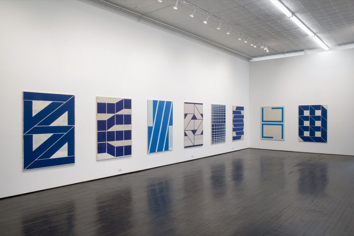 Installation view of Alain Biltereyst at Jack Hanley Gallery. Courtesy of the gallery.