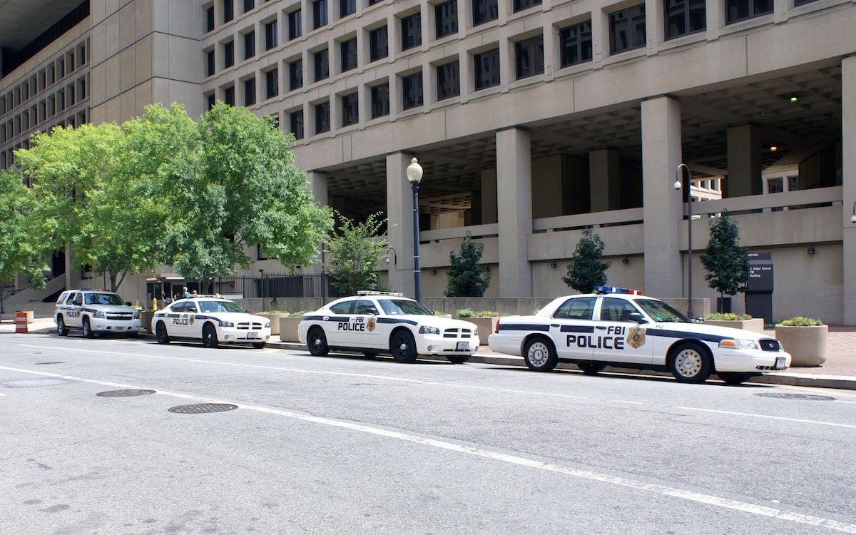 FBI vehicles. Photo by Matti Blume, via Wikimedia Commons.