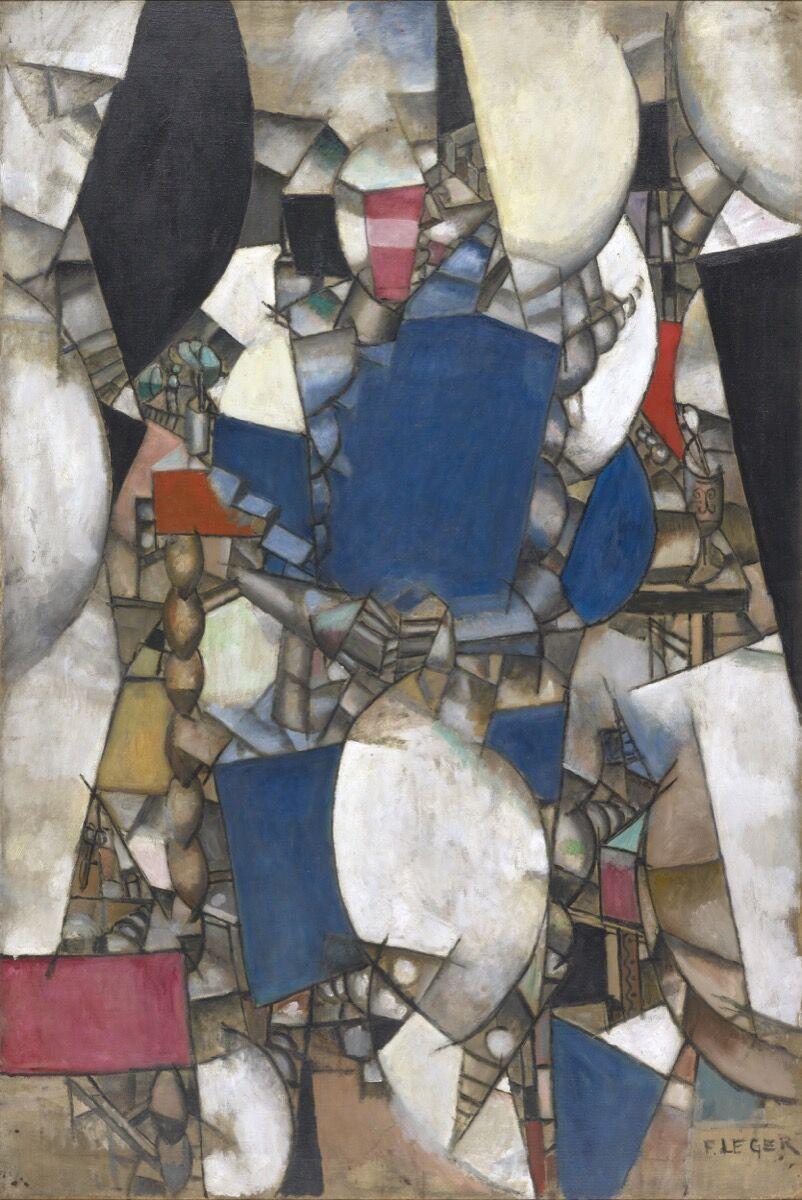Fernand Léger, La Femme en bleu, 1912. Courtesy of Kunstmuseum Basel.