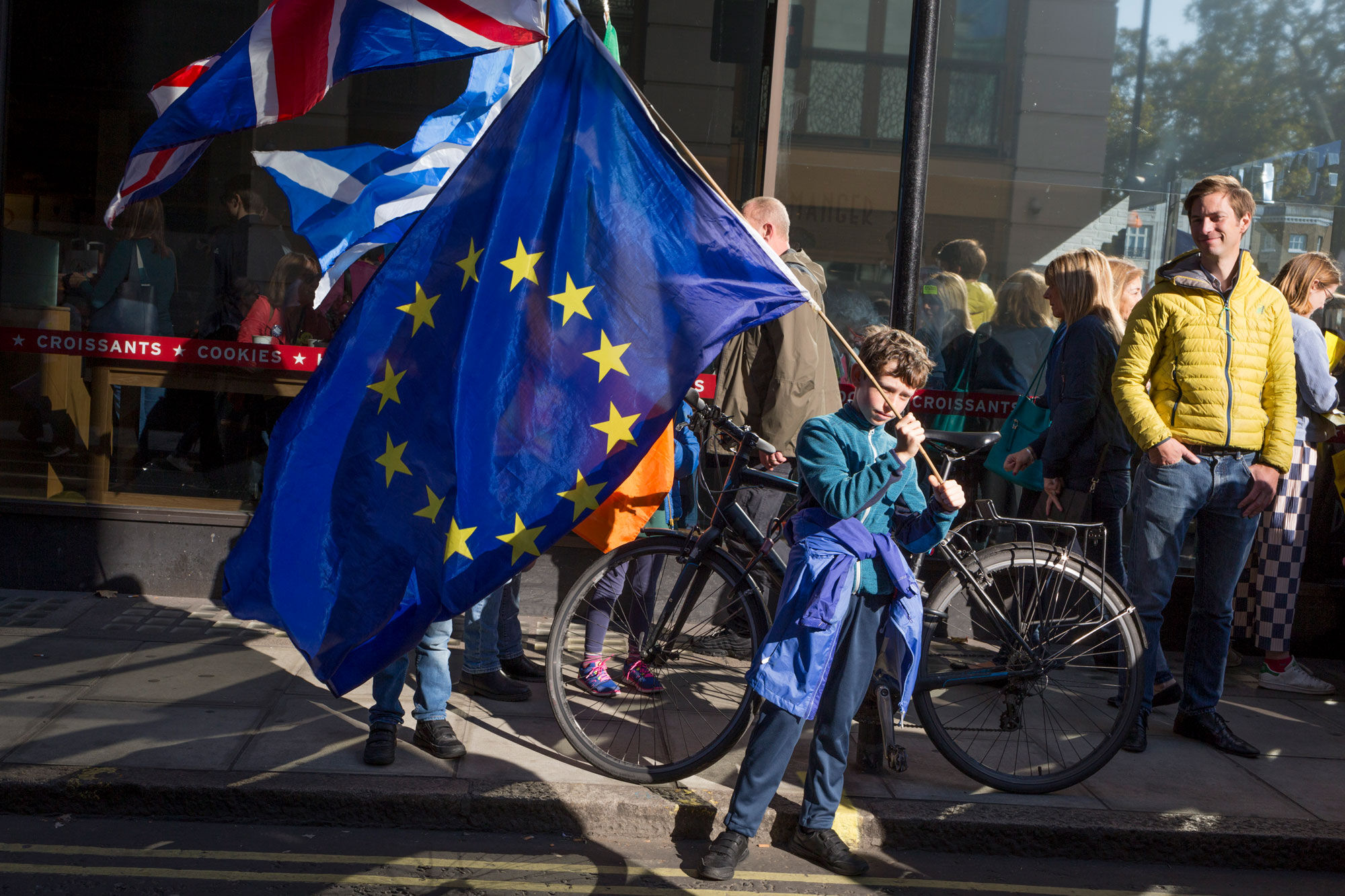 The Peoples Vote March For The Future, October 20, 2018 in London, United Kingdom. Photo by Richard Baker/In Pictures via Getty Images.