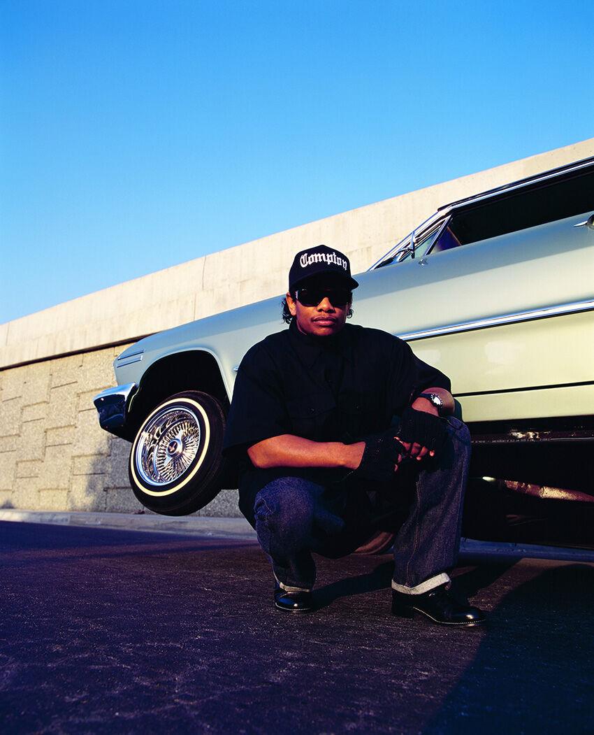 Chi Modu, Easy E, Los Angeles, CA, 1994. Image courtesy of the artist.