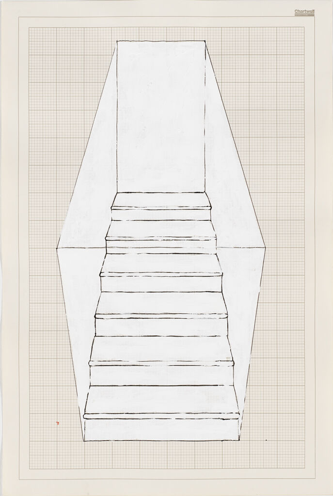 Rachel Whiteread, Stairs, 6 steps, black, 1995. Richard Brown Baker Fund for Contemporary British Art. Courtesy of the RISD Museum.