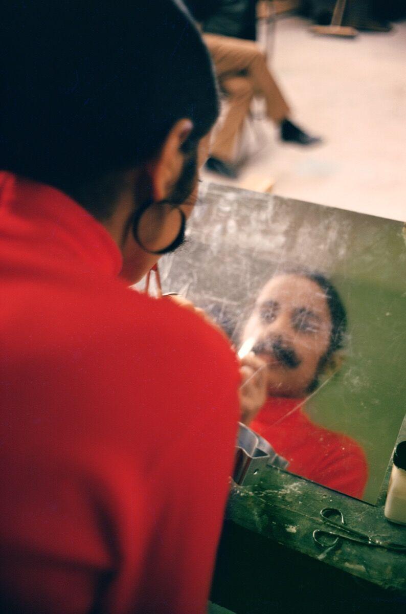 Ana Mendieta, Untitled (Facial Hair Transplants), 1972. © The Estate of Ana Mendieta Collection, LLC. Courtesy Galerie Lelong & Co.