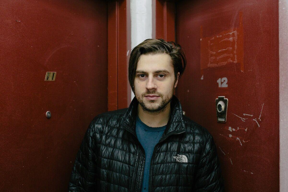 Portrait of Joshua Citarella in New York by Daniel Dorsa for Artsy.