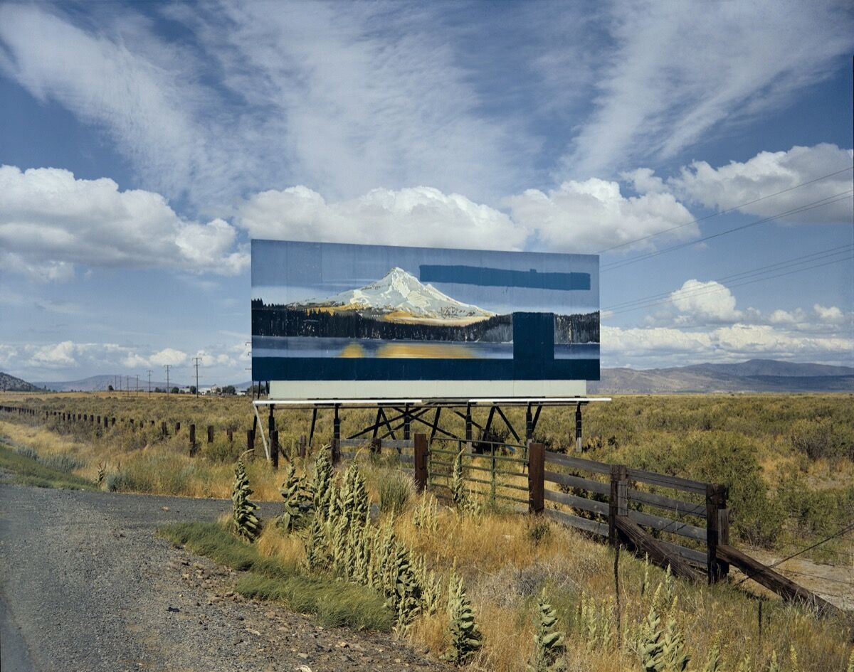 Stephen Shore, U.S. 97, South of Klamath Falls, Oregon, July 21, 1973, 1973. The Museum of Modern Art, New York. The Photography Council Fund. © 2017 Stephen Shore.