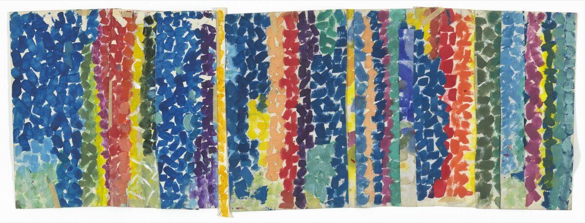 Alma Woodsey Thomas, Untitled, c. 1968. Courtesy of the Museum of Modern Art.