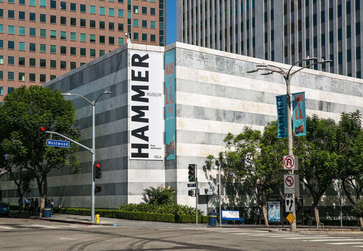 The exterior of Los Angeles' Hammer Museum. Photo by George Rose via Getty Images.