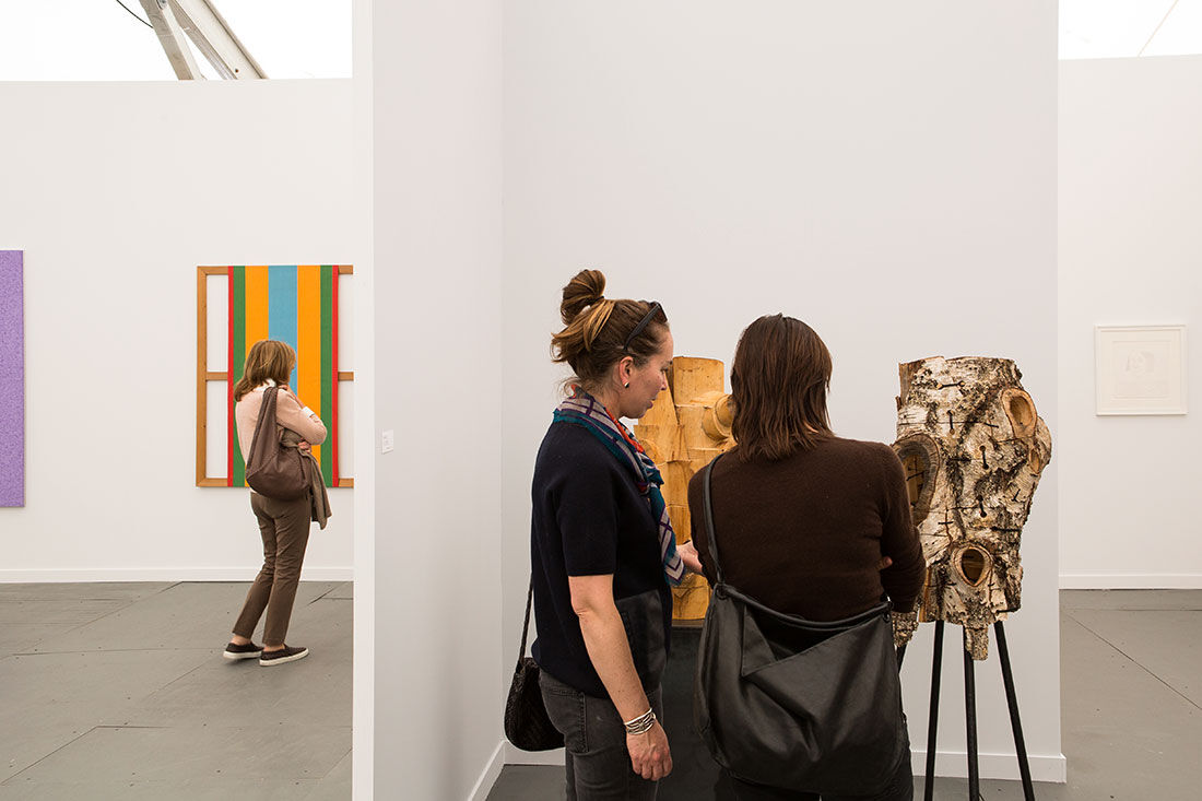 Photo of David Nolan Gallery's booth at Frieze New York 2015 by Marco Scozzaro. Courtesy of Marco Scozzaro/Frieze