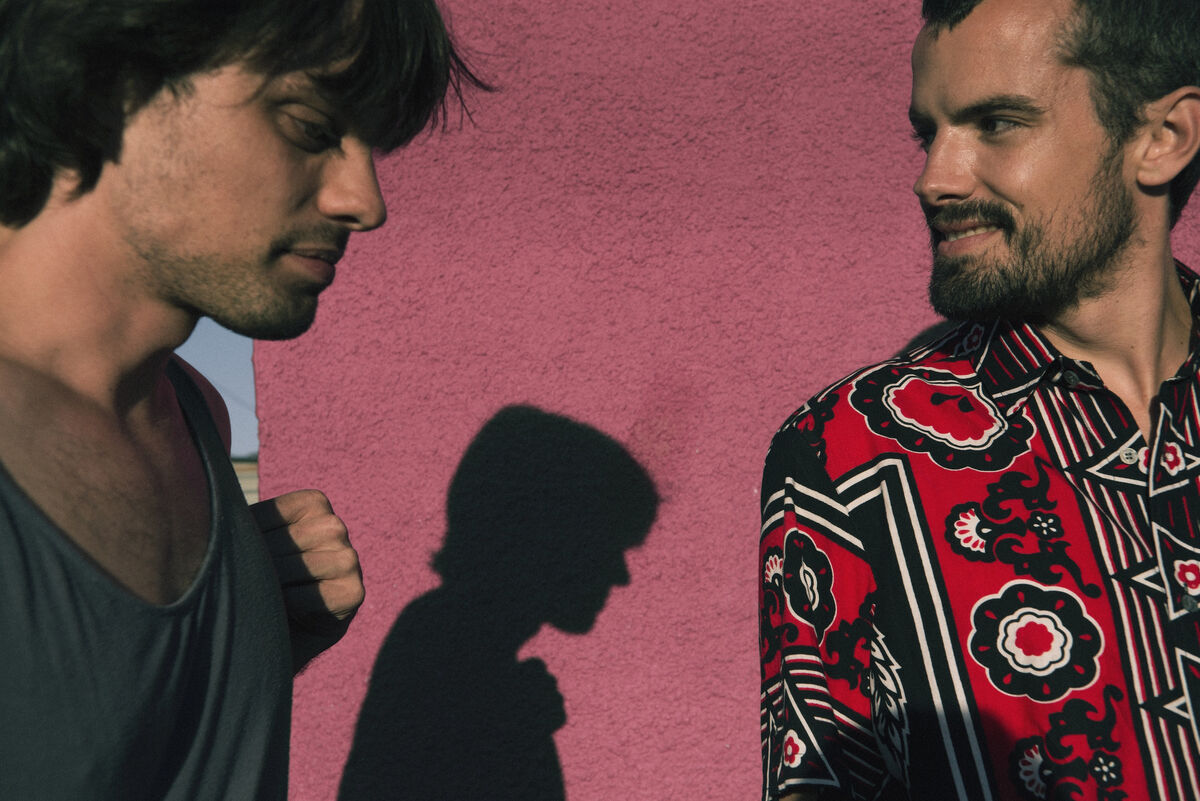 Nikolai and Simon Haas. Photo by Mason Poole.