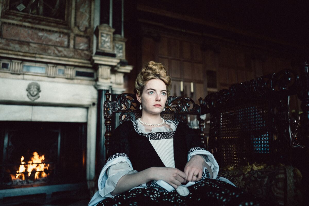 Still from The Favourite, 2018. Courtesy of Fox Searchlight Pictures.