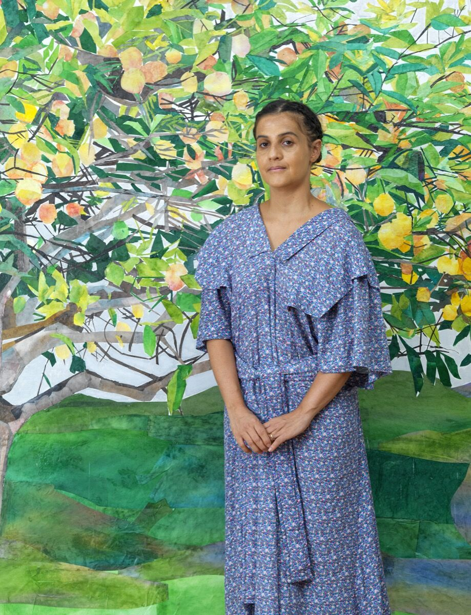 Portrait of María Berrío by Bruce White, 2020. © Bruce White. Courtesy of the artist and Victoria Miro.