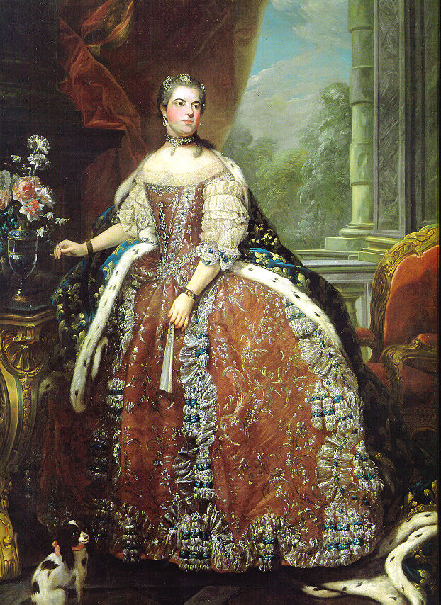 Portrait of Louise Élisabeth of France, (1727–59), Duchess of Parma, 1965. Image via Wikimedia Commons.