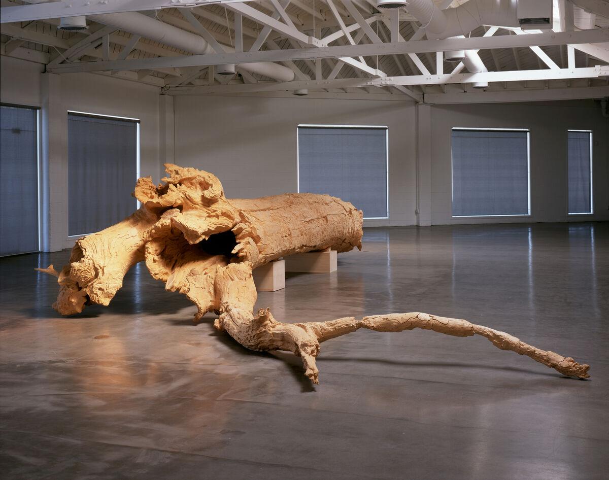 Charles Ray, Hinoki, 2007. © Charles Ray. Courtesy of Matthew Marks Gallery.