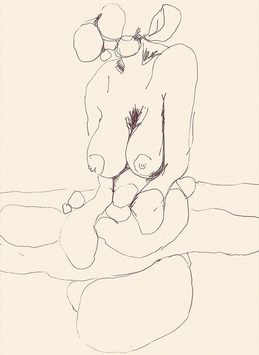 Alina Szapocznikow, Bust-Length Figure of a Woman, Headless 2, ca. 1971. © ADAGP, Paris 2017. Photo by Fabrice Gousset. Courtesy of The Estate of Alina Szapocznikow / Piotr Stanislawski / Galerie Loevenbruck, Paris.