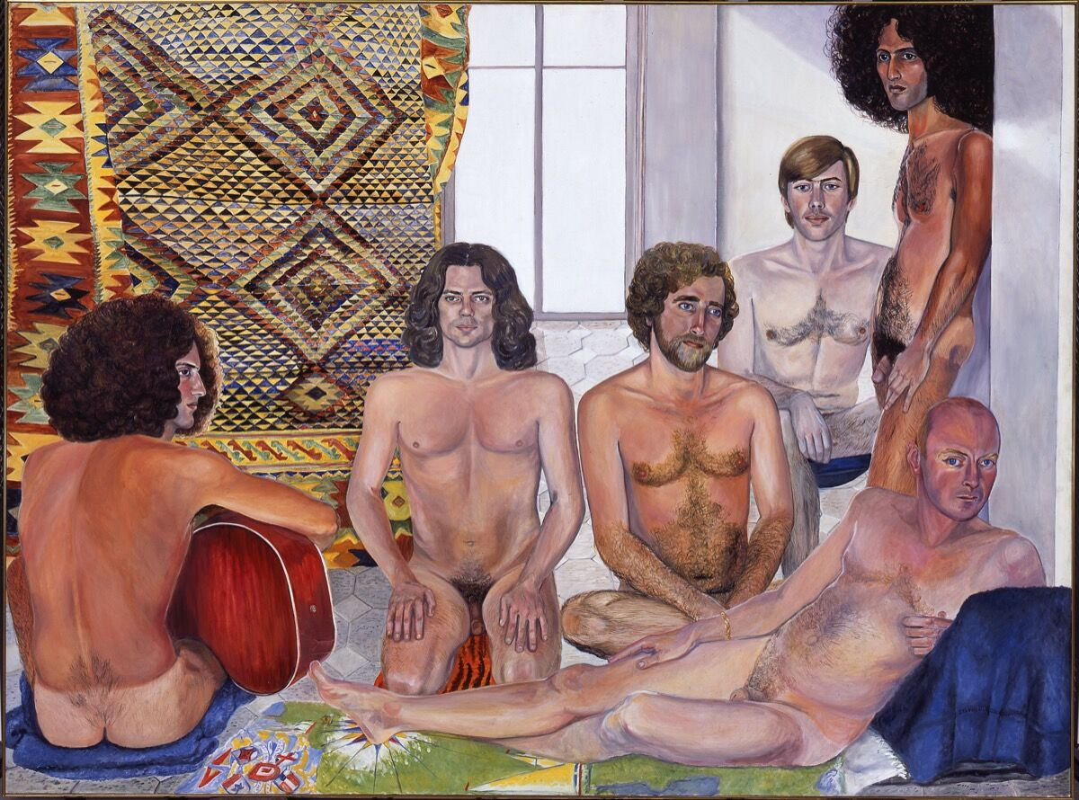 Sylvia Sleigh,The Turkish Bath, 1973. Smart Museum of Art, The University of Chicago. © Estate of Sylvia Sleigh.