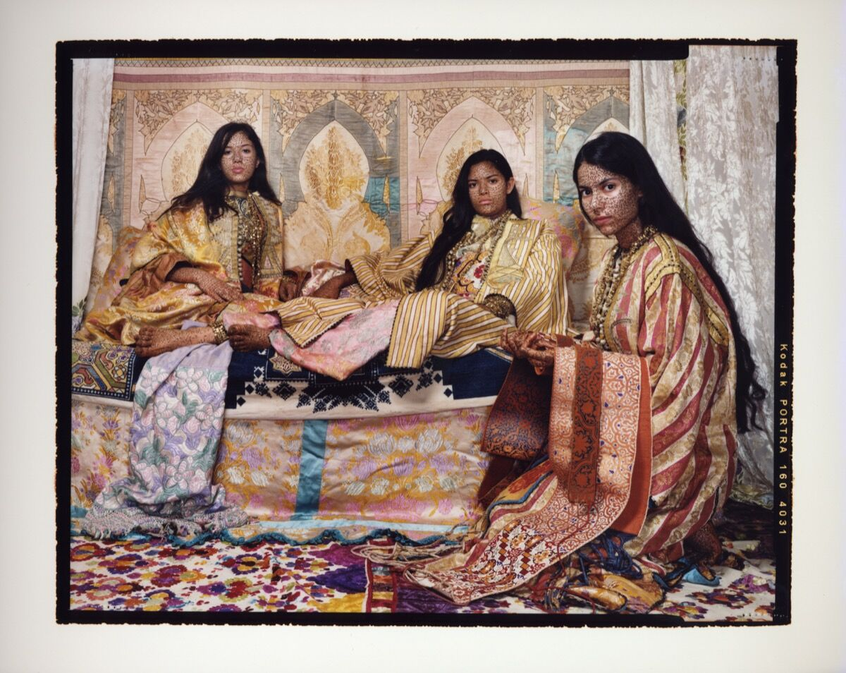 Lalla Essaydi, Harem Revisited #32, 2012-13. Courtesy of Laurence King.