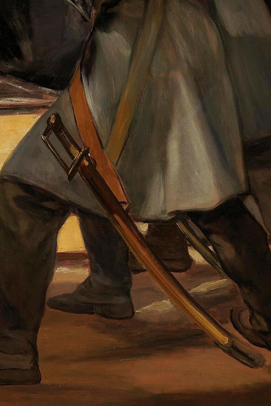 Francisco de Goya, El tres de mayo (detalle), 1814. Imagen a través de Wikimedia Commons.