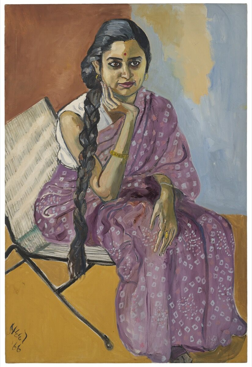 Alice Neel, Woman, 1966. © The Estate of Alice Neel. Courtesy of David Zwirner, New York/London and Victoria Miro, London.