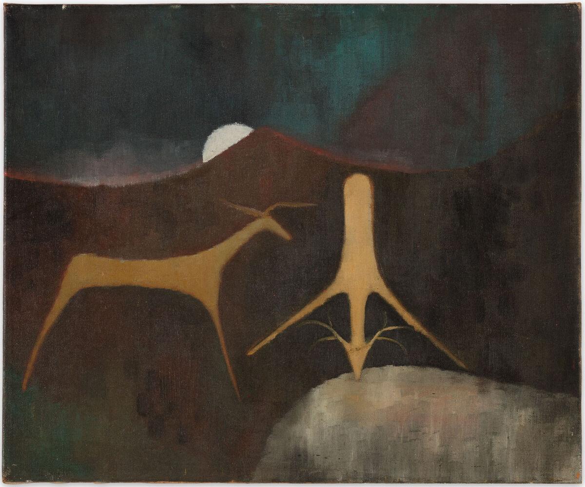 Luchita Hurtado,  Untitled,  ca. 1947–49. Courtesy of Hauser & Wirth.