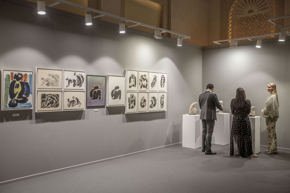 The 2018 edition of Art Dubai. Photo courtesy of Photo Solutions.