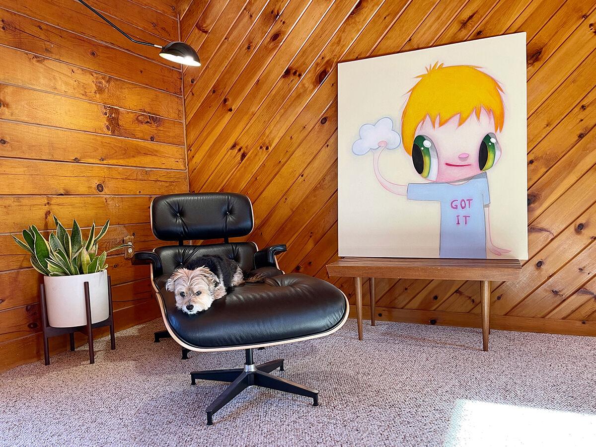 Javier Calleja, installation view in Jason Lee's home. Courtesy of Jason Lee.