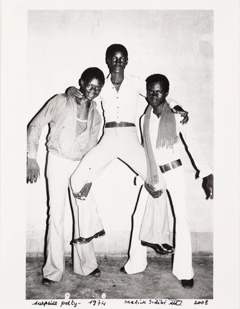 Malick Sidibé, Surprise Party, 1974/2008. Courtesy of Jack Shainman Gallery.