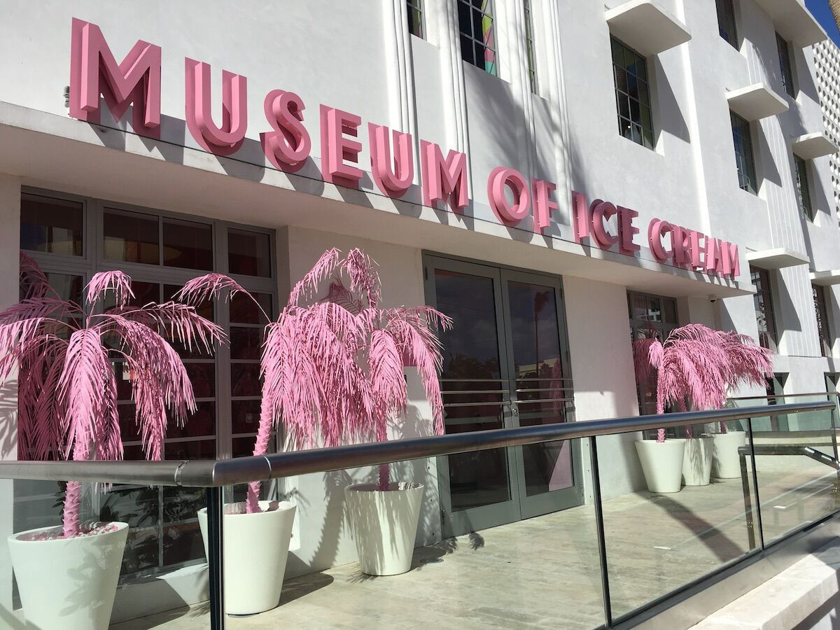 A Museum of Ice Cream pop-up in Miami. Photo by Phillip Pessar, via Flickr.