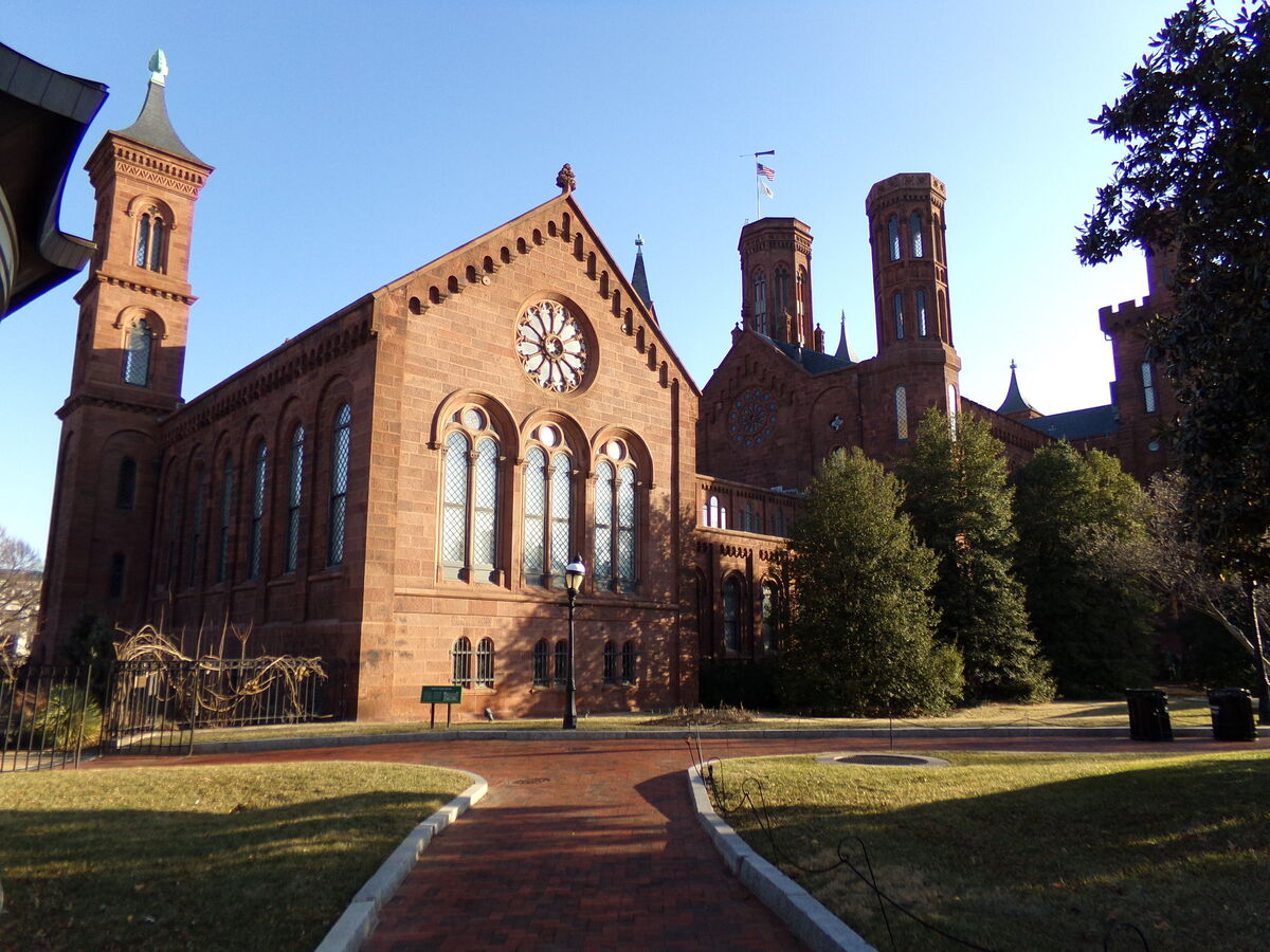 The Smithsonian Castle in Washington D.C. Photo by LunchboxLarry via Flickr.