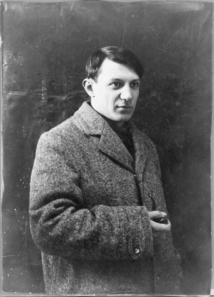 Portrait of Pablo Picasso, 1908. Image via Wikimedia Commons.