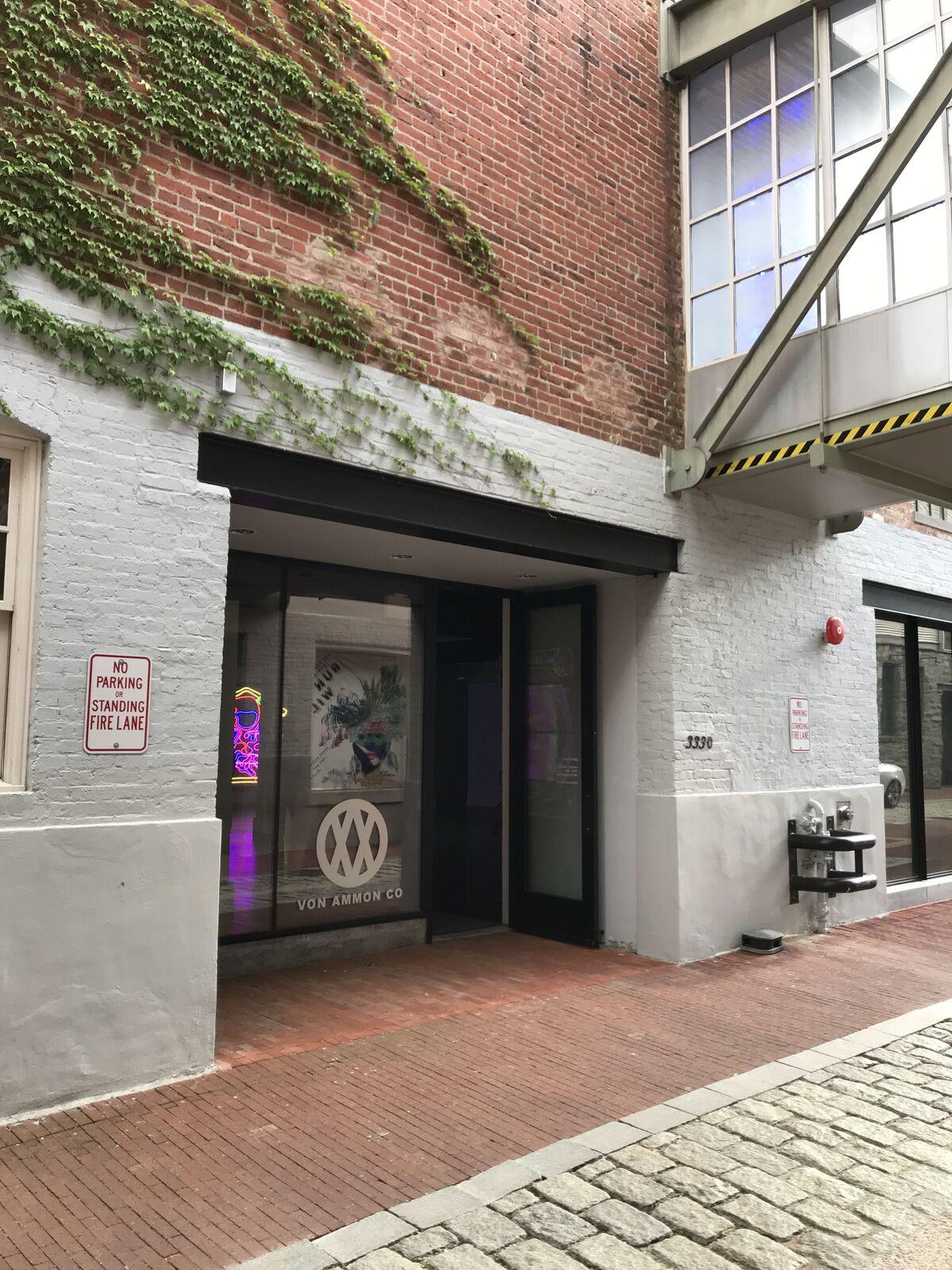 Exterior of Von Ammon Co in Washington D.C. Courtesy of Von Ammon Co.