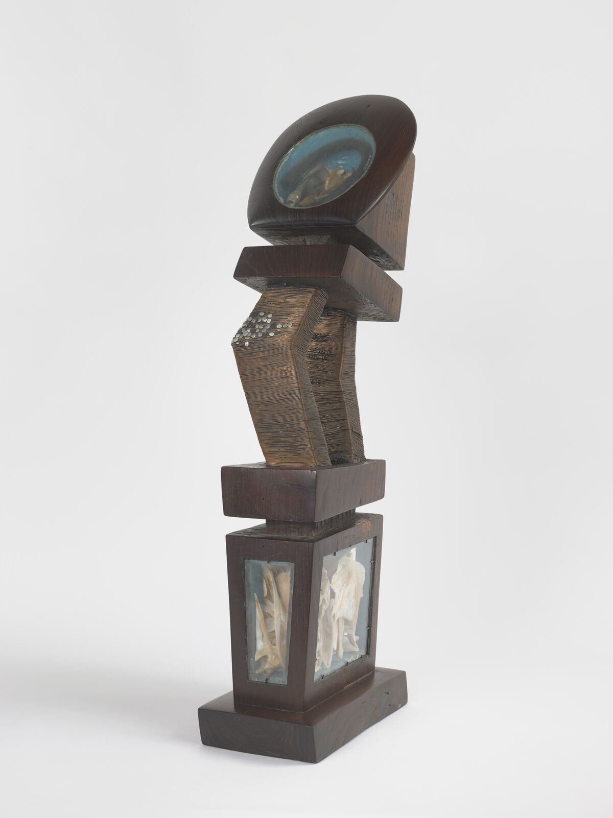 Jack Whitten, Reliquary for Orfos, 1978. Photo by Genevieve Hanson. Courtesy of the artist's estate, Hauser & Wirth, and the Baltimore Museum of Art.