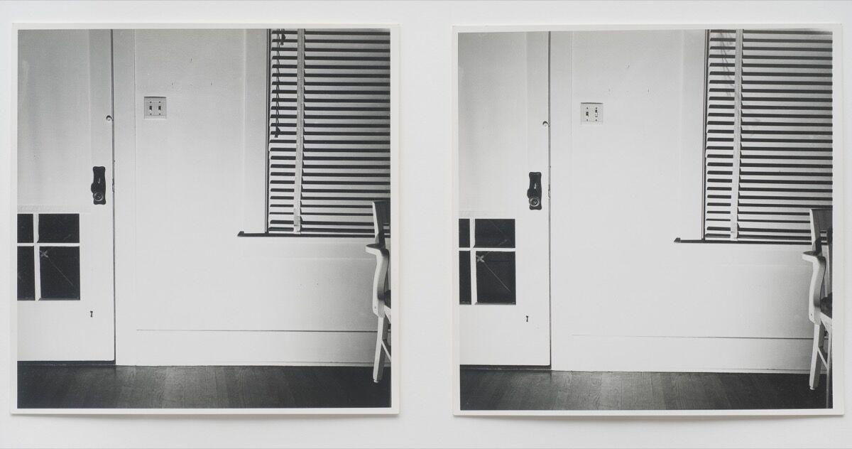 William Wegman, Light Off/Light On, 1970. © William Wegman. Courtesy of the artist and The Metropolitan Museum of Art.