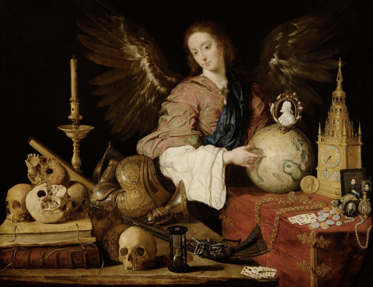 Antonio de Pereda, Allegory of Transience, c. 1640. Image via Wikimedia Commons.