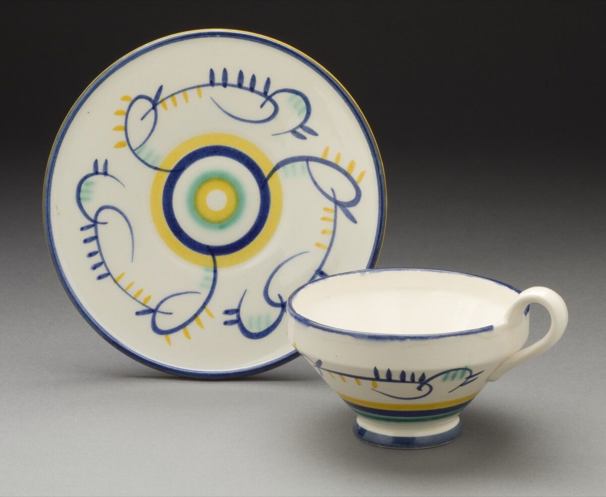 Margarete Heymann-Marks, Kandinsky Inspired Teacup, 1929. Courtesy of The Ellen Palevsky Cup Collection, Gift of Max Palevsky. Courtesy of Los Angeles County Museum of Art.