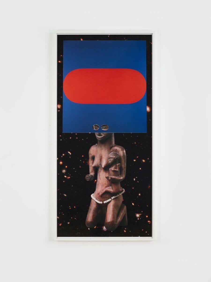 William Villalongo, Sista Ancesta (E. Kelley/D.R. of Congo, Pende), 2012. © Villalongo Studio LLC and Susan Inglett Gallery, NY. Courtesy of Bernard Lumpkins.