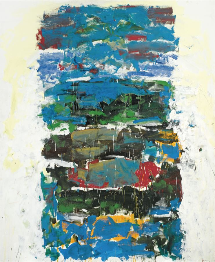 Joan Mitchell, Champs, 1990. Courtesy of Phillips.