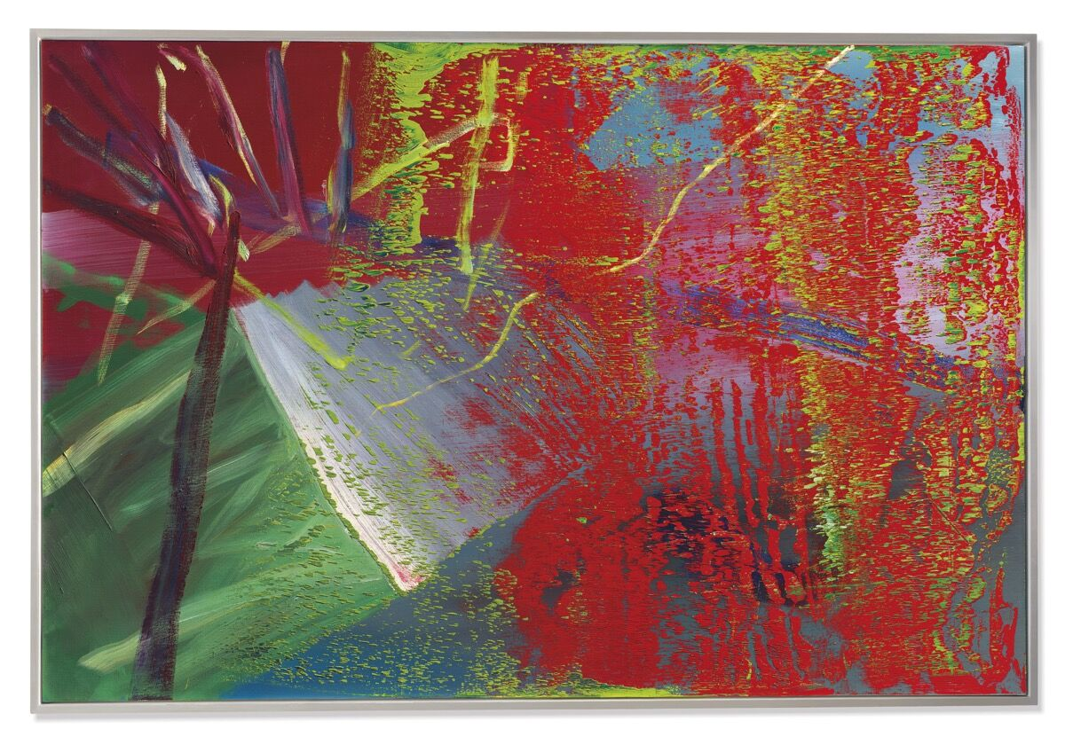 Gerhard Richter, Abstraktes Bild, 1984. Courtesy of Christie's.