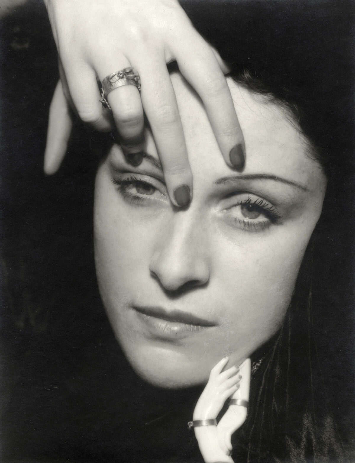 Man Ray, Portrait of Dora Maar, 1936. Image via The Red List.