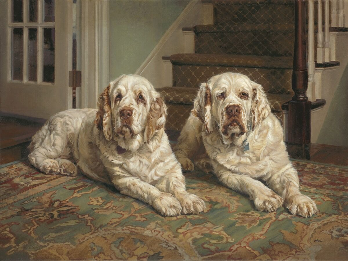 Pamela Dennis Hall, Breezy and Rupert, 2010. Courtesy of William Secord Gallery.